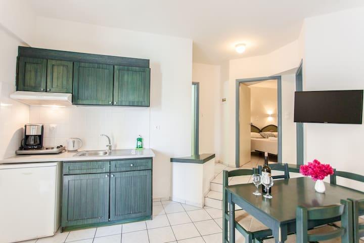 2 - Bedroom Pool Apartment in Melitti Hotel