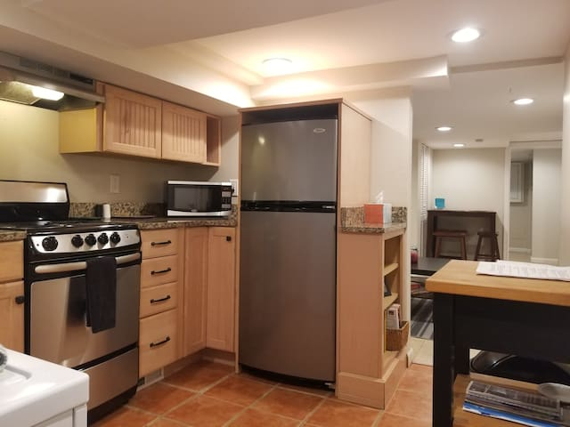 Cozy Capitol Hill 1 BR English Basement