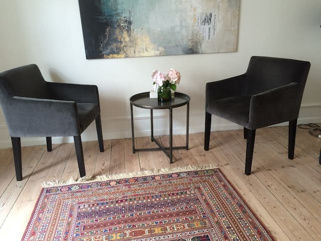 Cosy apartement with two rooms for max 4 people.