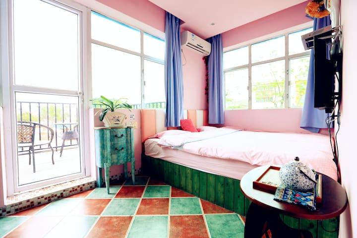 半日闲 · 畅想空间 · 1.8米阳台大床房 20㎡