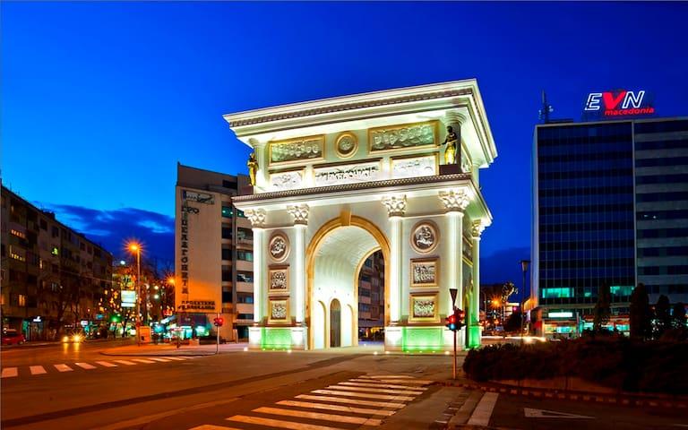 Skopje的民宿