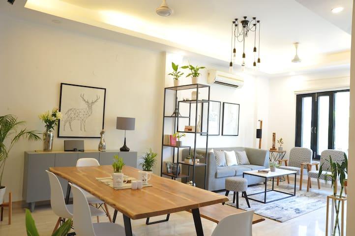 A Modern Scandinavian style 3 Bedroom apartment