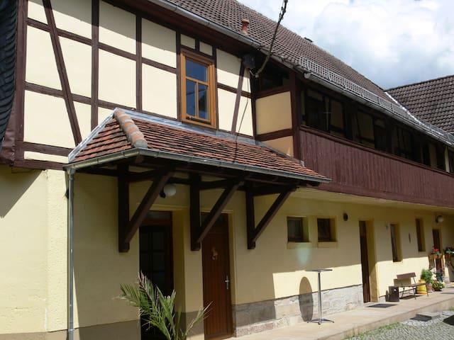 Trockenborn-Wolfersdorf的民宿