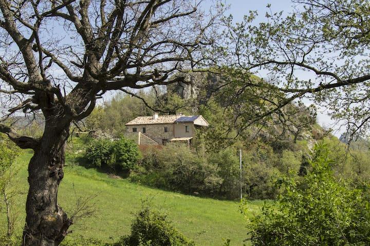 Eco apartment in the heart of Valmarecchia hills