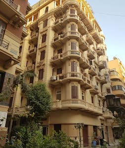 Downtown Cairo oasis