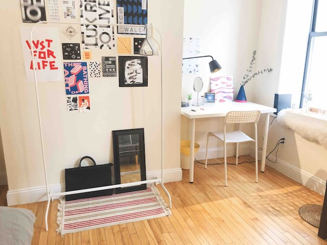 Large and Private Room - Midtown Manhattan