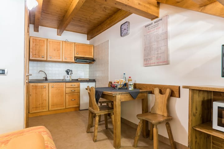 "Beautiful ""Appartamento Adamello 14"" with Mountain View & Wi-Fi; Parking Available, Pets Allowed"