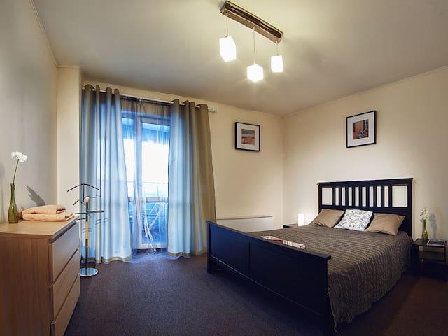 Просторная и  очень уютная квартира