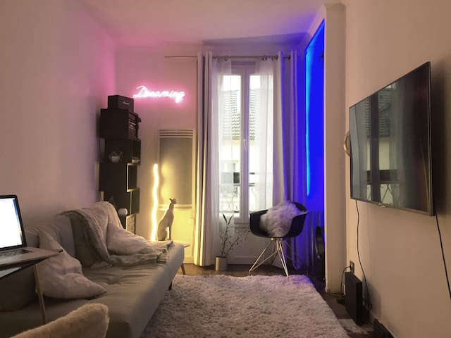 Cosy and arty flat in center of Paris, Bastille