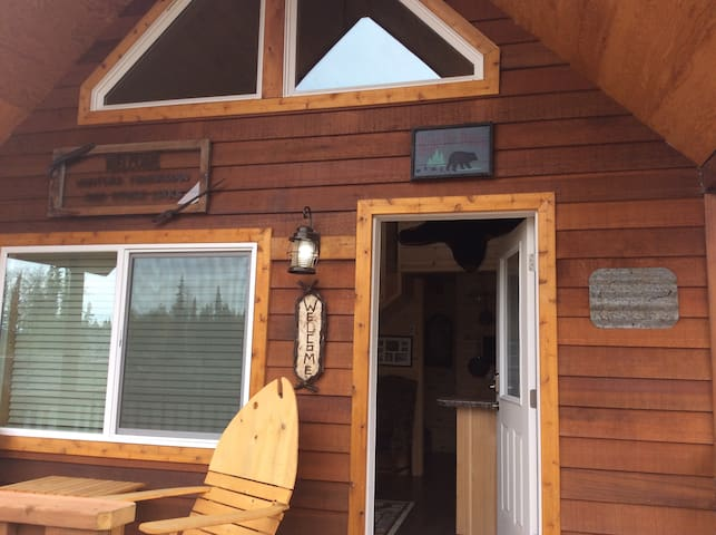 Alaska Kenai River Fishing Cabin # 1 Bear Cabin