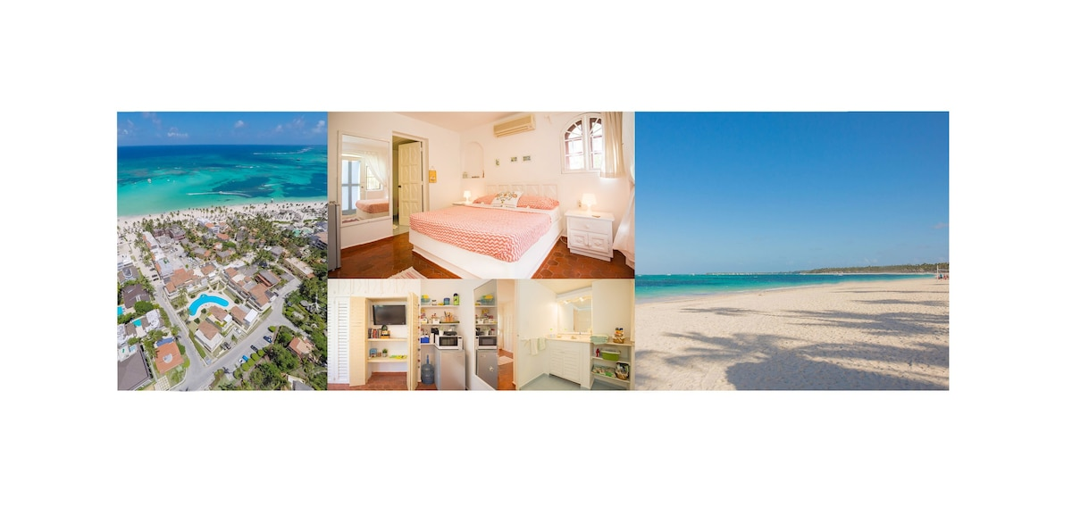 Suite with pool and beach