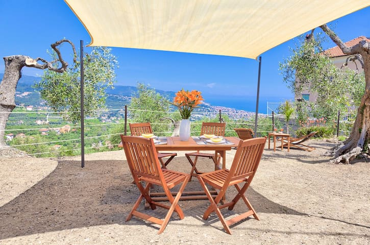 Casa Mara - house with garden, for 5 people, in the small village of Diano Serreta 8027LT0302