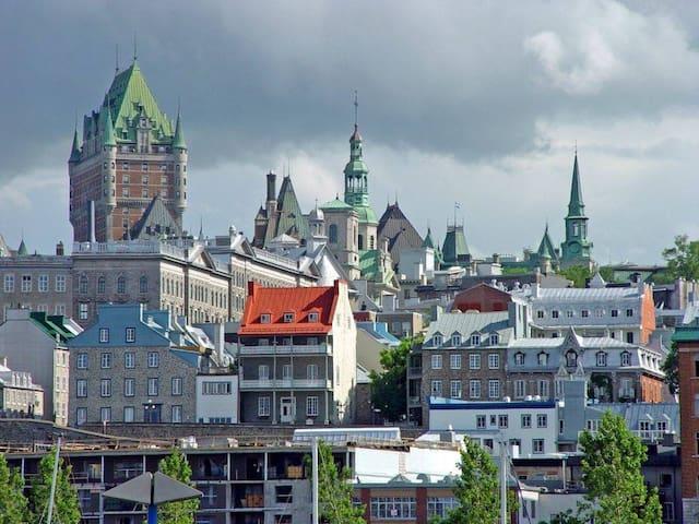 魁北克城的民宿