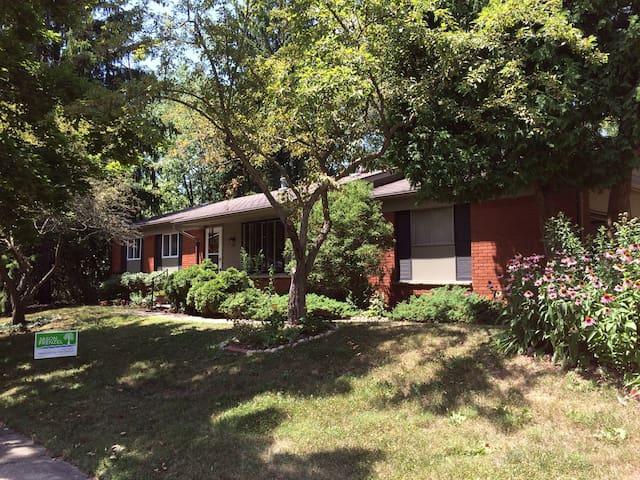 Enjoy this cozy home in Ann Arbor near downtown