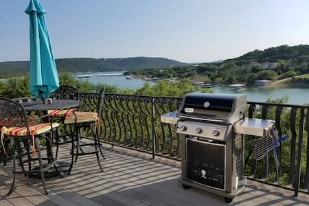 Beautiful Lake Travis waterfront home with dock.