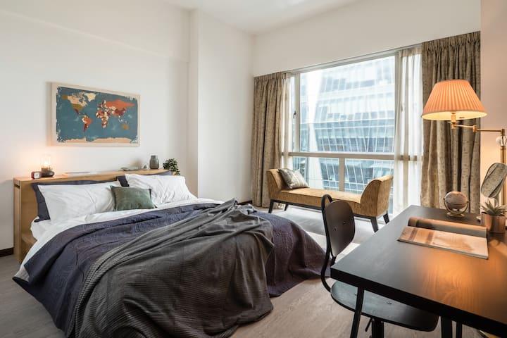 KL 15, 两卧室公寓在 KL Sentral 带 100 mbps互联网 (6位)