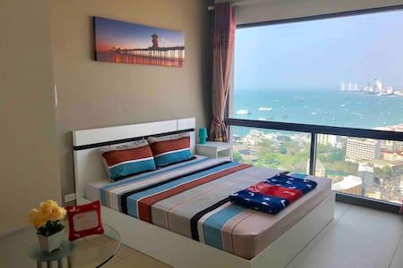海景大床房-靠近步行街及Bali Hai码头,提供中文服务(20)