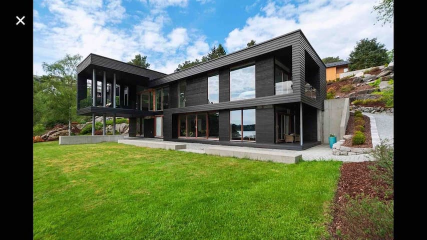 Architect designed villa by the sea
