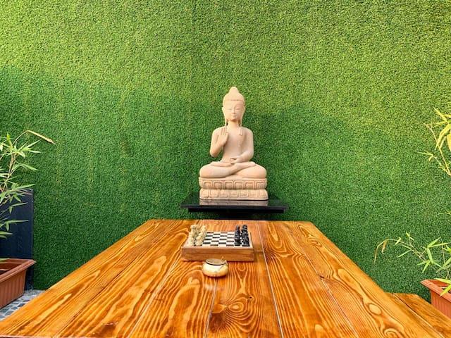 *Zen Room With Secret  Garden & Open Air Jacuzzi*
