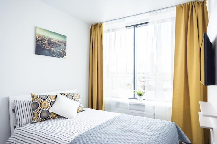 Уютные апартаменты с панорамным видом на город