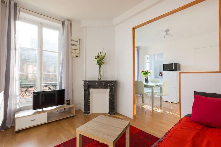 Beautiful, sunny apartment 10 min away from Paris