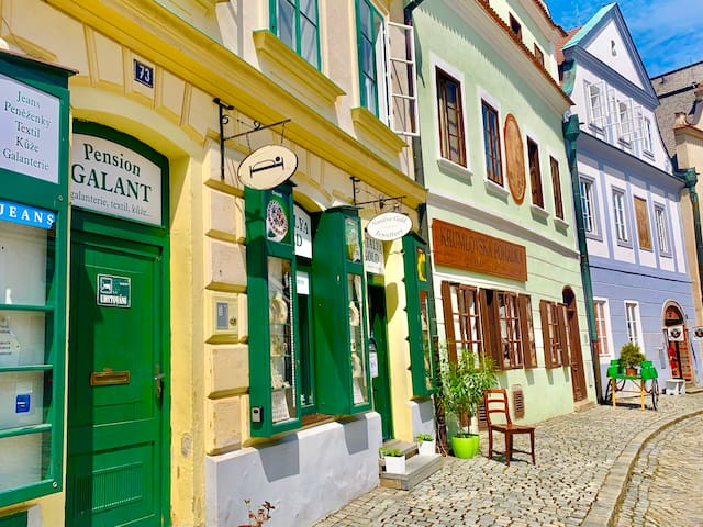 Český Krumlov的民宿