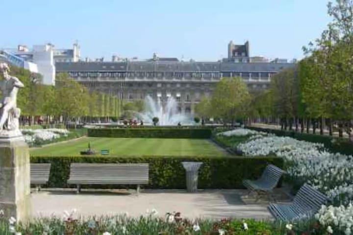 Studio jardin palais royal