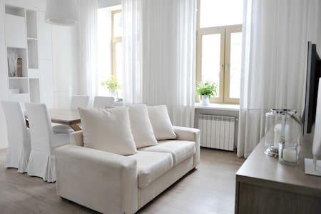 Designer flat in L'va Tolstoho Square