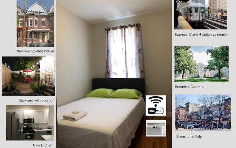 Comfortable, clean room in beautiful area
