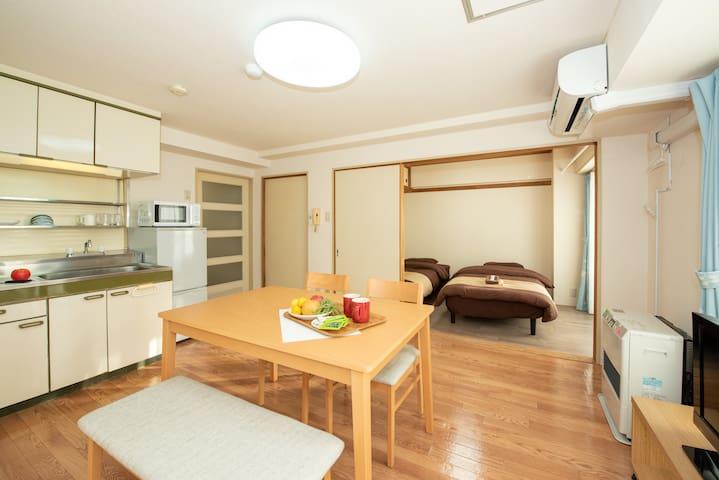 Chūō-ku, Sapporo的民宿