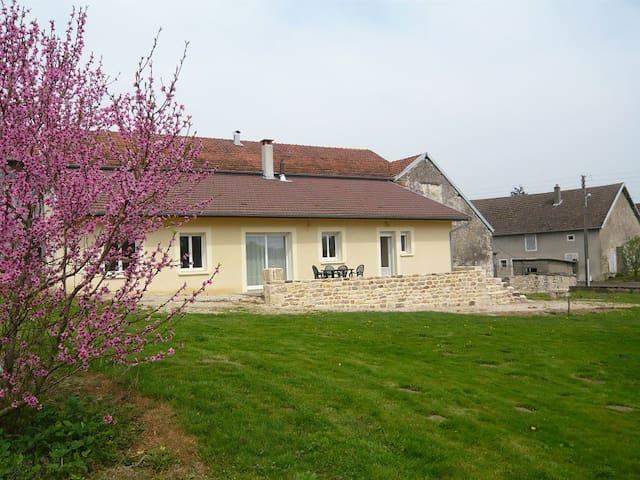 Broye-Aubigney-Montseugny的民宿