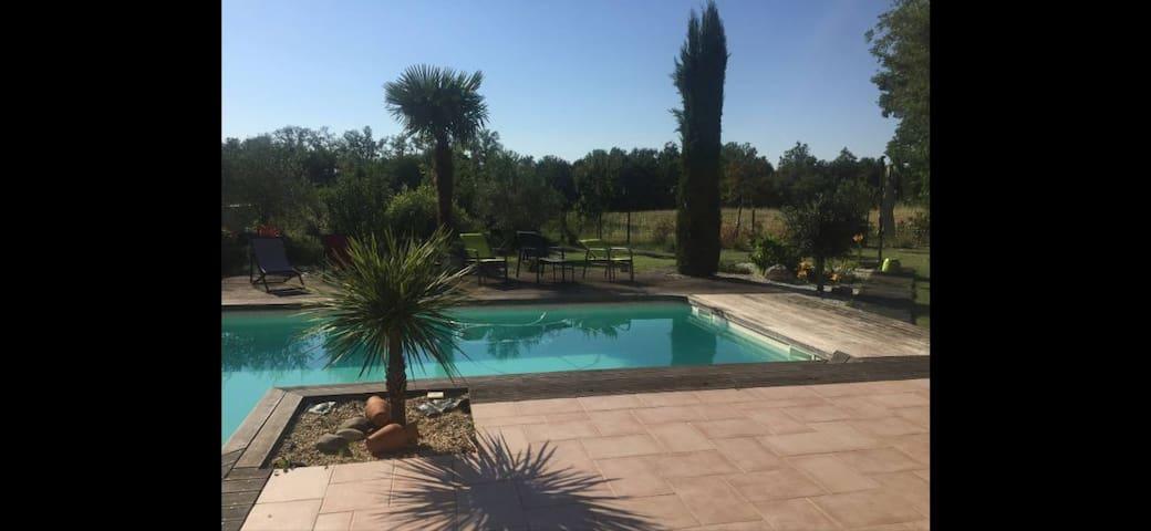 Belle villa moderne à 10 minutes de Toulouse