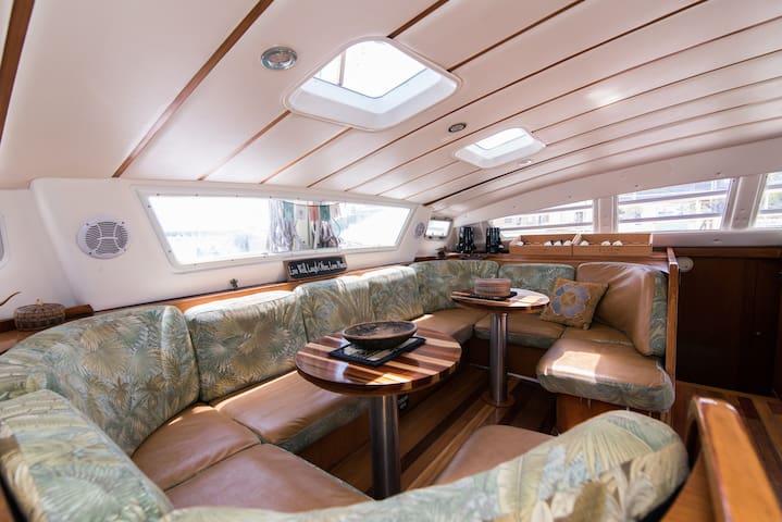 Ana Luna Catamaran B&B - Starboard Stern