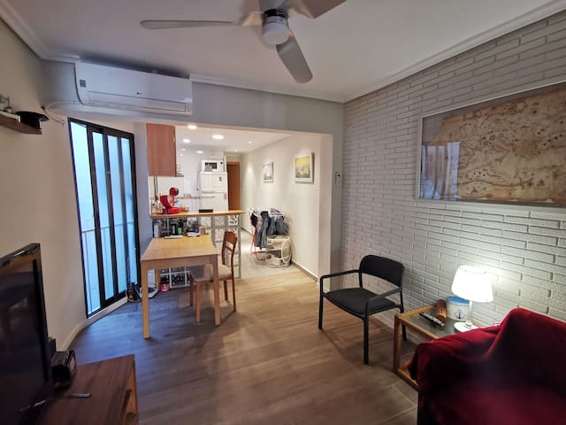 Habitación Individual en Russafa
