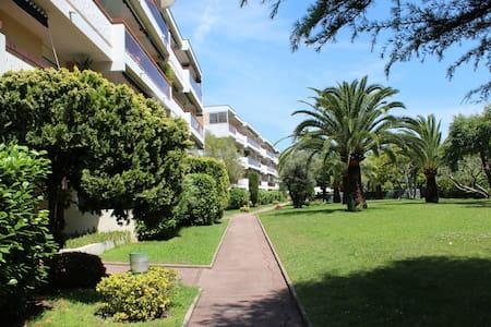 Appartement 3 pièces proche mer, avec piscine
