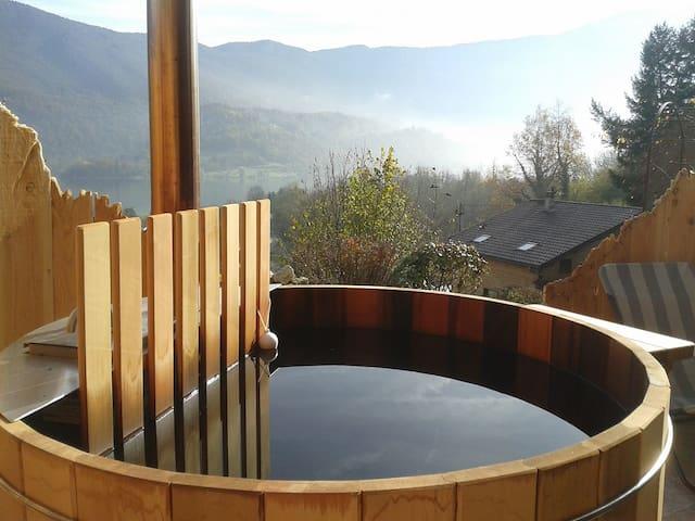Chambre d'Estef + bain nordique + apéro dinatoire