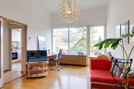Panoramic apartment in the heart of the city