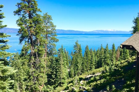 Breathtaking Lake View Remodeled Old Tahoe Cabin