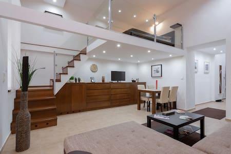 Luxury Beige & Brown Apartment