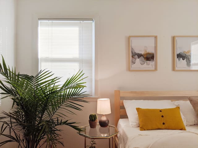 Central Scandi-Inspired Stay