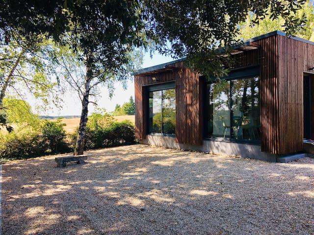 Cottage contemporain en pleine Nature