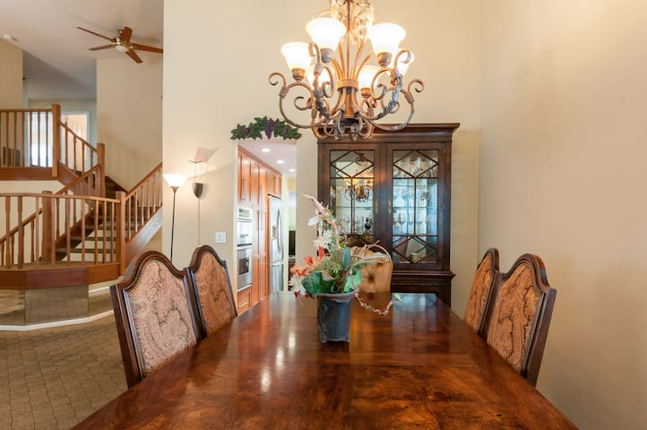 Serene, Large 4 BR/2.5BA Home in Silicon Valley