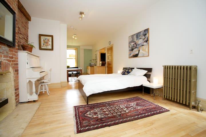 Eco studio/loft in Mile-End/Plateau