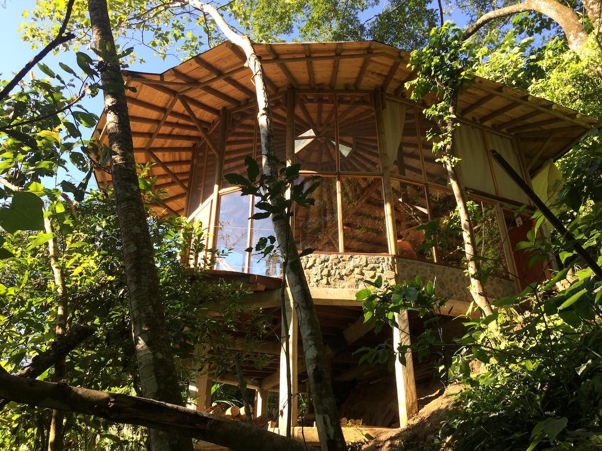 Wooden Chalet Casa Luna, in Minca, Sierra Nevada