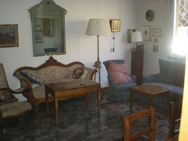 Grandparents'  home