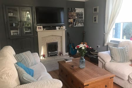 Room in traditional Dublin Home