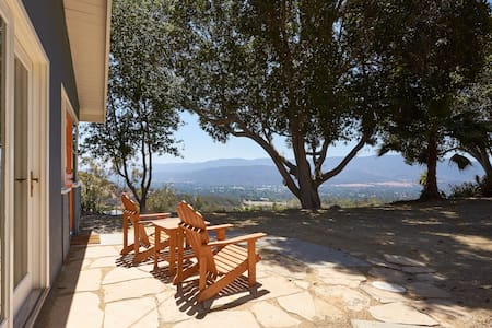The Ojai View House - Peaceful Retreat With A View
