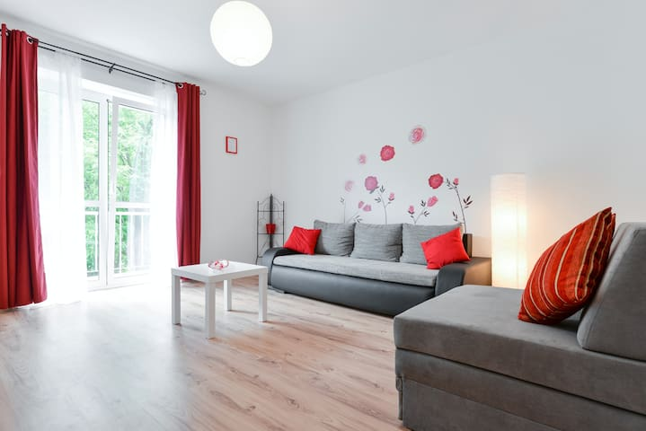 New shiny apartment in the centre