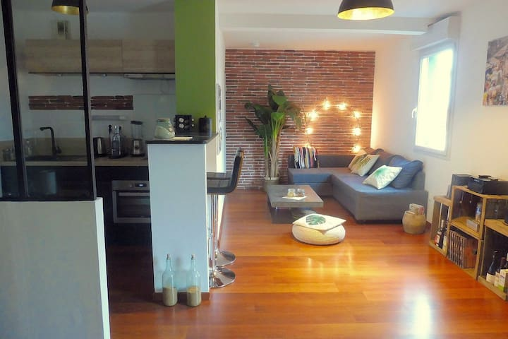Nice Two Roomed Apartment - NANTES