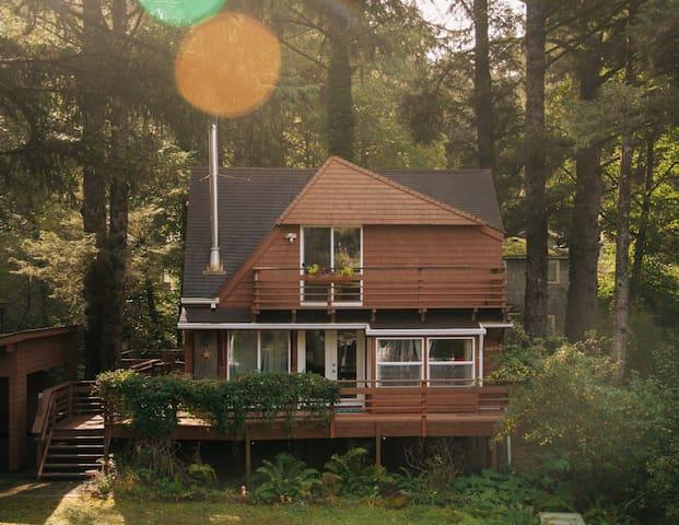The Haystack Haus - A Cabin on the Oregon Coast